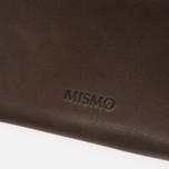 Mismo Card Zip Wallet Dark Brown photo- 5