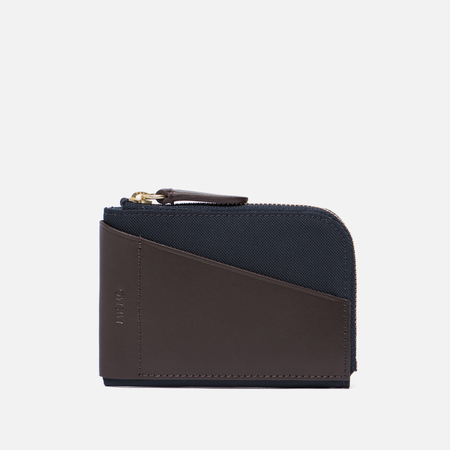 Кошелек Mismo Cards & Coins Navy/Dark Brown