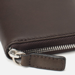 Кошелек Mismo Mini Wallet Dark Brown фото- 2