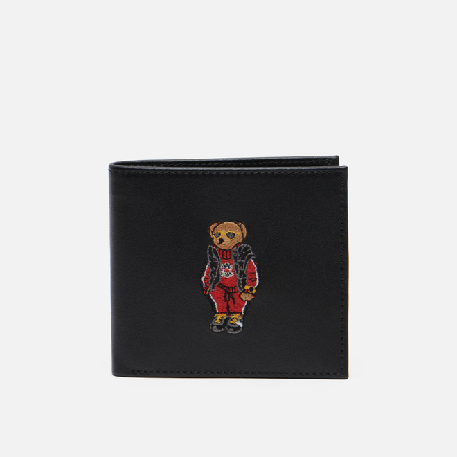 Кошелек Polo Ralph Lauren Chinese New Year Bear Bilfold/Coin Black