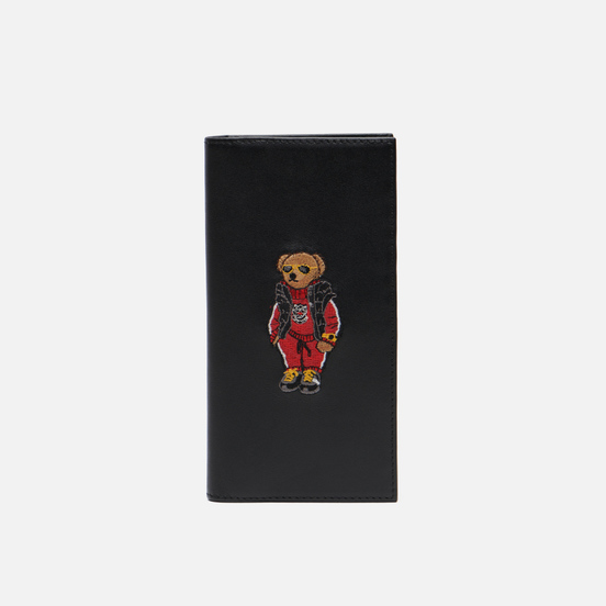 Кошелек Polo Ralph Lauren Chinese New Year Bear Continued Black