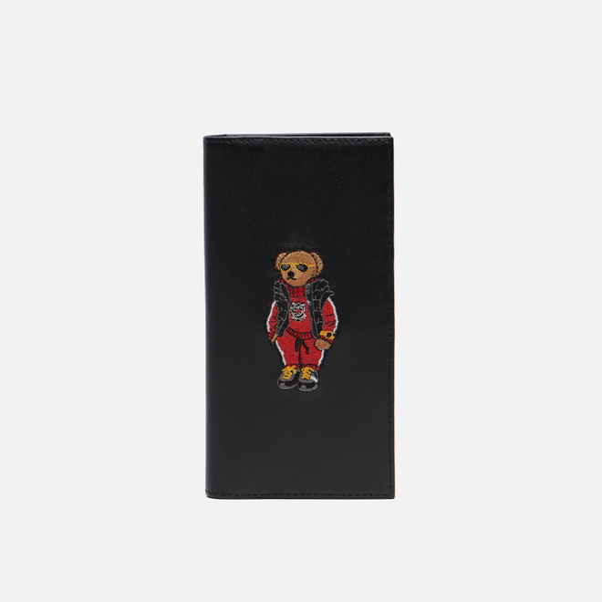 Кошелек Polo Ralph Lauren Chinese New Year Bear Continued Black