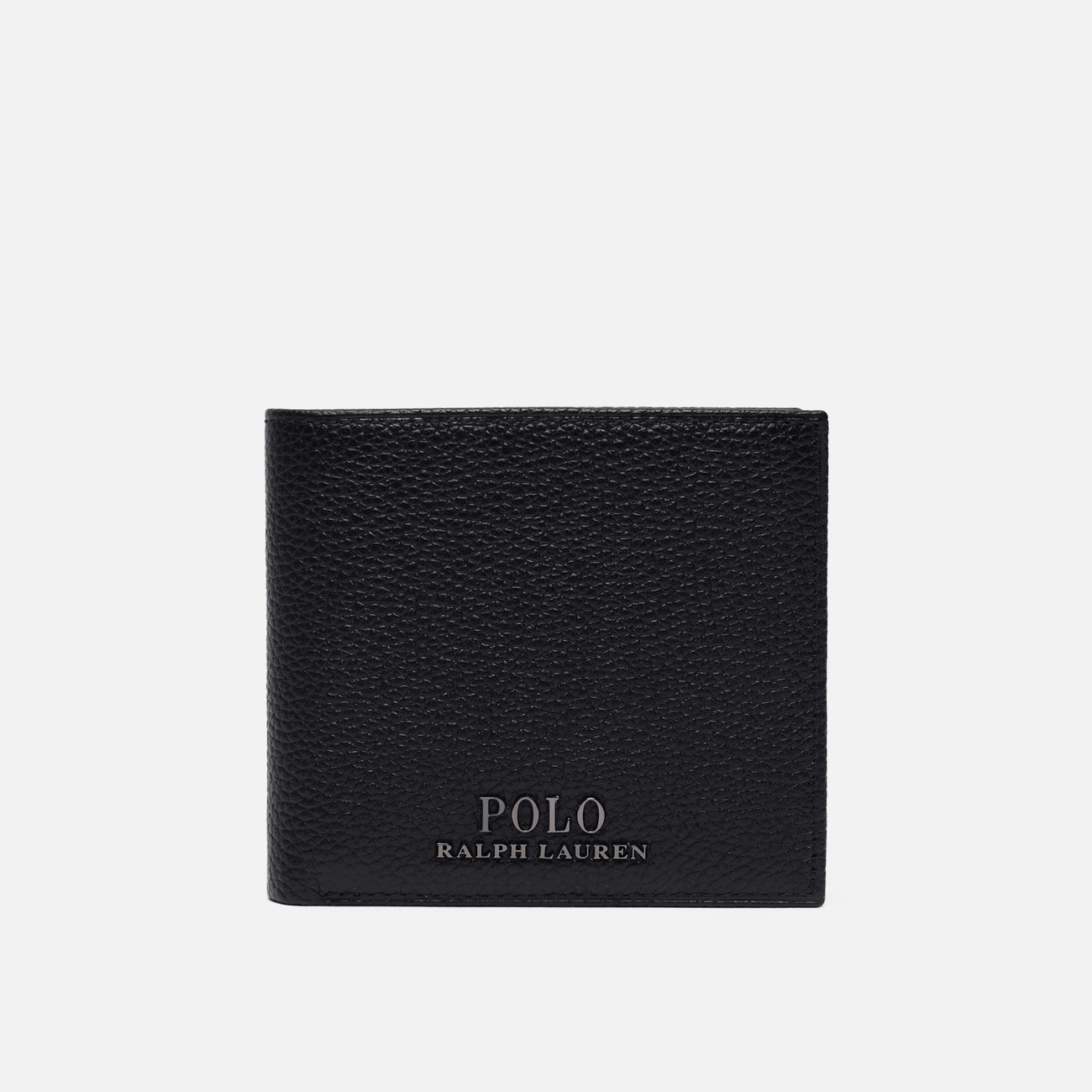 Кошелек Polo Ralph Lauren Logo PRL Pebbel Leather Billfold Black