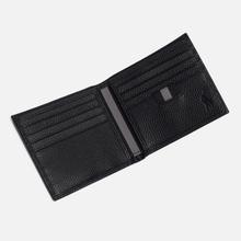 Кошелек Polo Ralph Lauren Logo PRL Pebbel Leather Billfold Black фото- 2