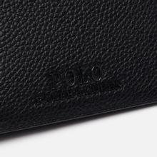 Кошелек Polo Ralph Lauren Logo PRL Pebbel Leather Billfold Black фото- 3