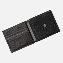 Кошелек Polo Ralph Lauren Logo PRL Pebbel Leather Billfold Black фото- 4