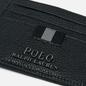 Кошелек Polo Ralph Lauren Money Clip Pebble Leather Black фото - 3