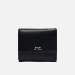 Кошелек Polo Ralph Lauren Nappa Leather Small Black