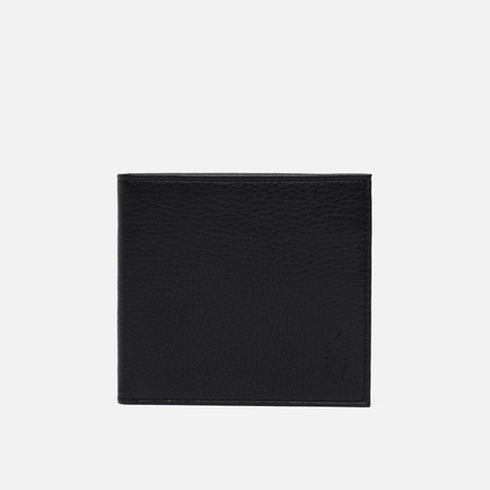 Кошелек Polo Ralph Lauren Small EU Billfold Smooth Leather Black