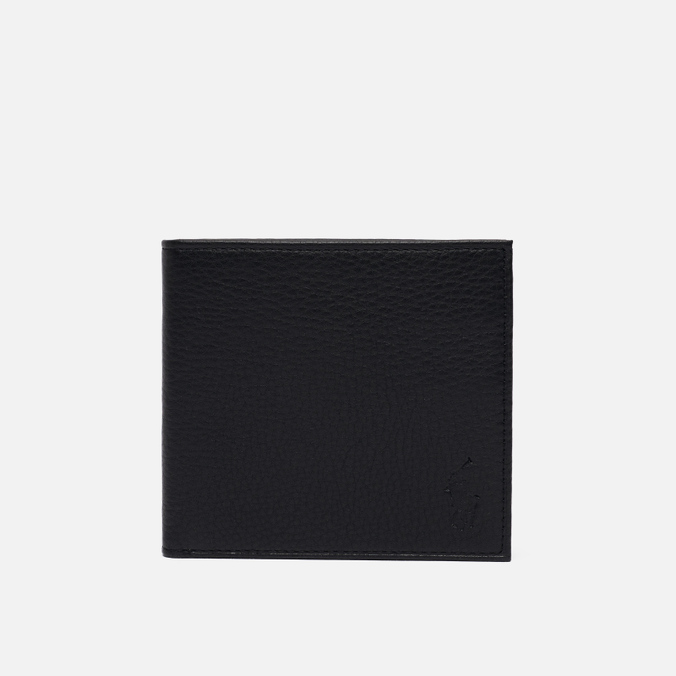Кошелек Polo Ralph Lauren Small EU Billfold Smooth Leather Black