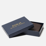 Кошелек Polo Ralph Lauren Small EU Billfold Smooth Leather Brown фото- 6