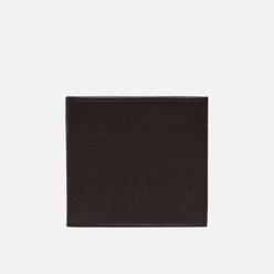 Кошелек Polo Ralph Lauren Small EU Billfold Smooth Leather Brown