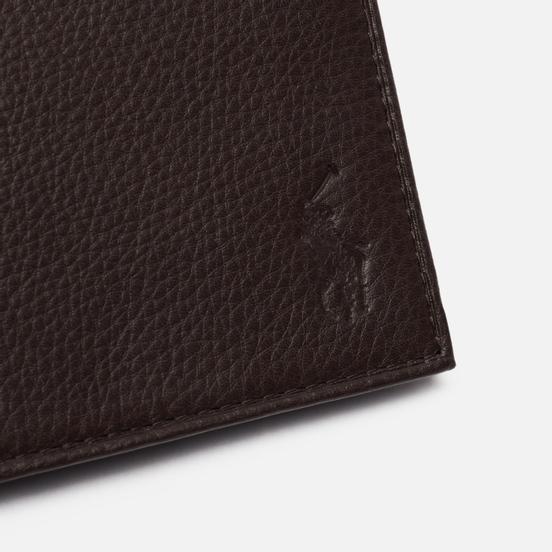 Кошелек Polo Ralph Lauren Small EU Billfold Smooth Leather Brown