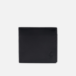 Кошелек Polo Ralph Lauren Small Smooth Leather Black