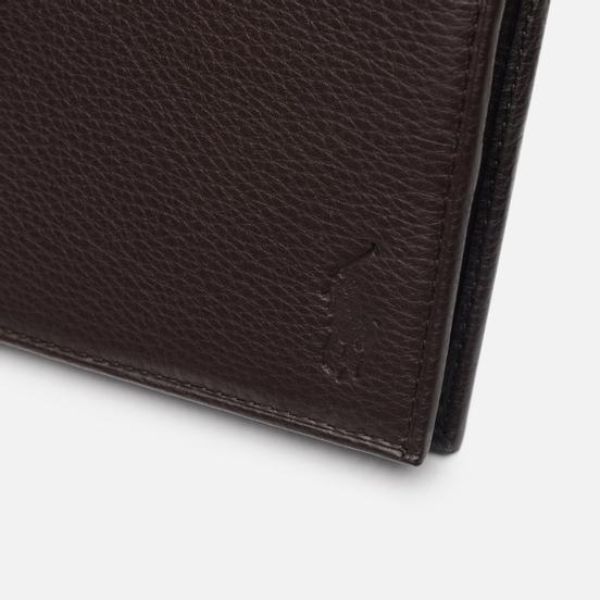 Кошелек Polo Ralph Lauren Small Smooth Leather Brown