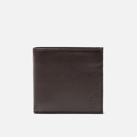 Кошелек Polo Ralph Lauren Small Smooth Leather Brown