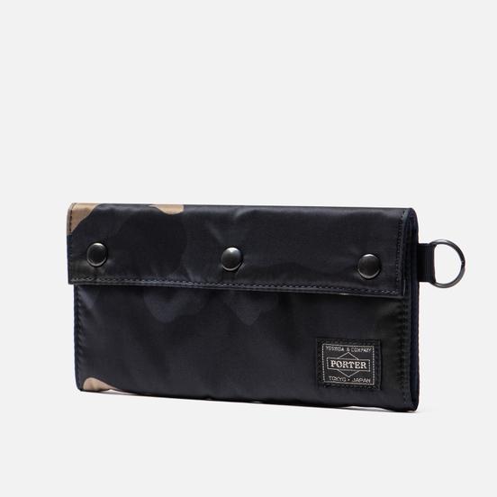 Кошелек Porter-Yoshida & Co Counter Shade Long Woodland Khaki