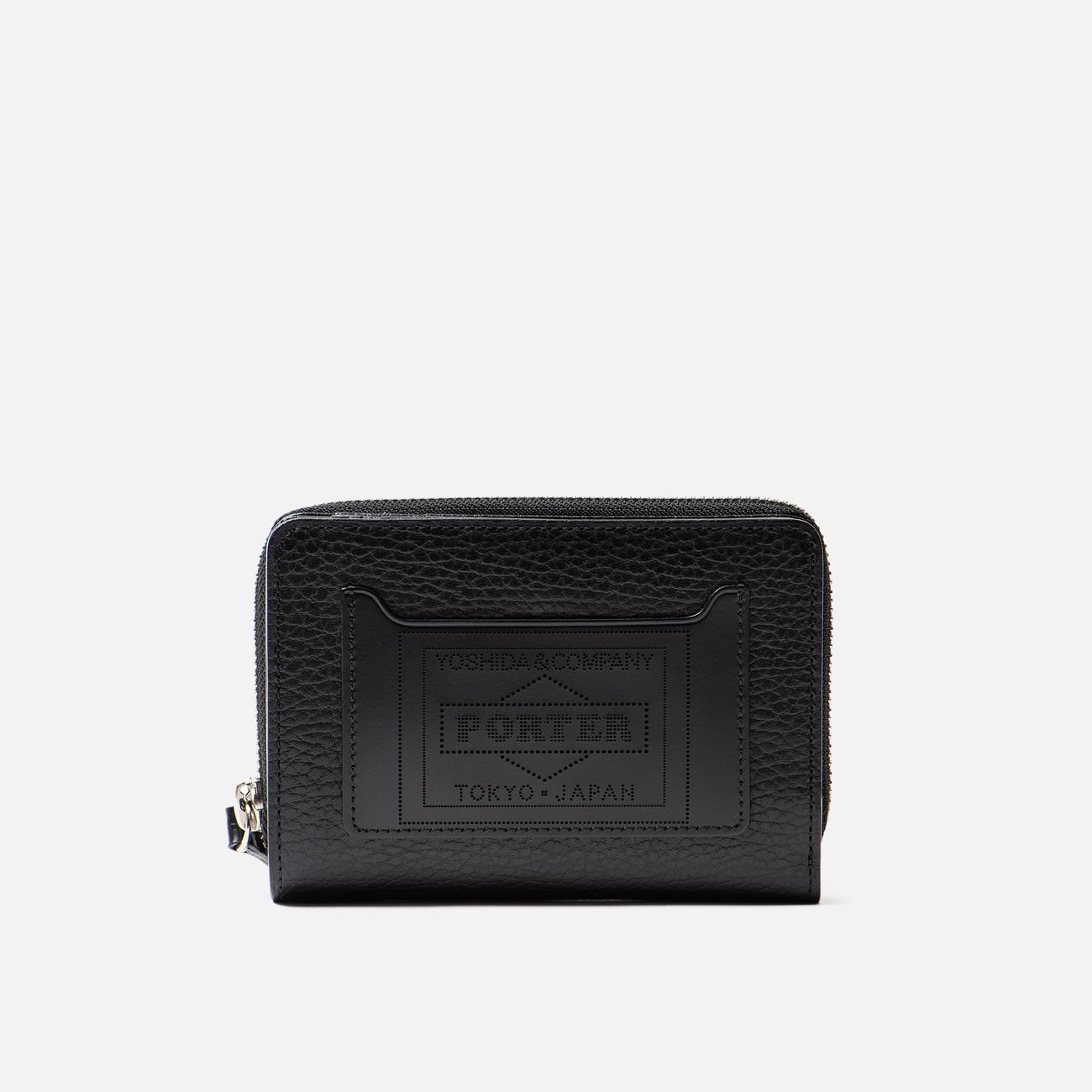 Кошелек Porter-Yoshida & Co Glaze Leather Bi-Fold Black