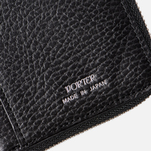 Кошелек Porter-Yoshida & Co Glaze Leather Bi-Fold Black фото- 5