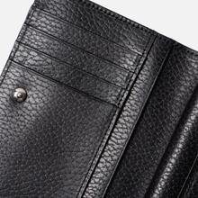 Кошелек Porter-Yoshida & Co Glaze Leather Bi-Fold Black фото- 6