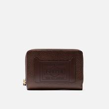 Кошелек Porter-Yoshida & Co Glaze Leather Bi-Fold Brown фото- 0