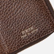 Кошелек Porter-Yoshida & Co Glaze Leather Bi-Fold Brown фото- 5