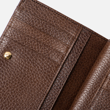 Кошелек Porter-Yoshida & Co Glaze Leather Bi-Fold Brown фото- 6