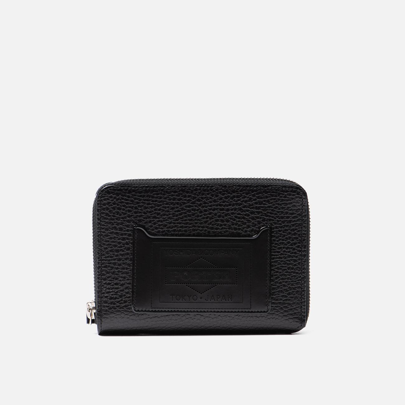 Кошелек Porter-Yoshida & Co Glaze Leather Passport Case Black