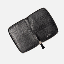 Кошелек Porter-Yoshida & Co Glaze Leather Passport Case Black фото- 3