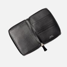 Кошелек Porter-Yoshida & Co Glaze Leather Passport Case Black фото- 3