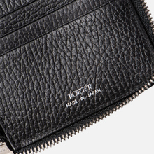 Кошелек Porter-Yoshida & Co Glaze Leather Passport Case Black фото- 4