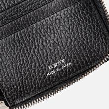 Кошелек Porter-Yoshida & Co Glaze Leather Passport Case Black фото- 4