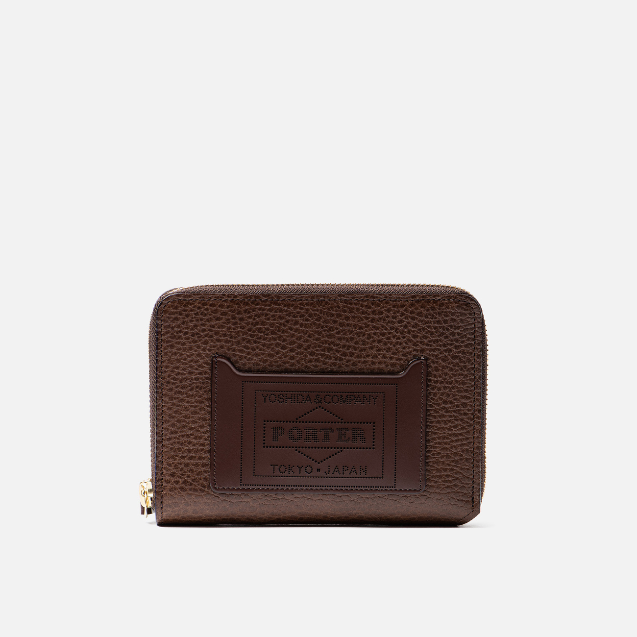 Кошелек Porter-Yoshida & Co Glaze Leather Passport Case Brown