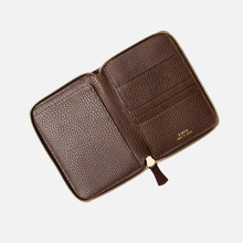 Кошелек Porter-Yoshida & Co Glaze Leather Passport Case Brown фото- 3