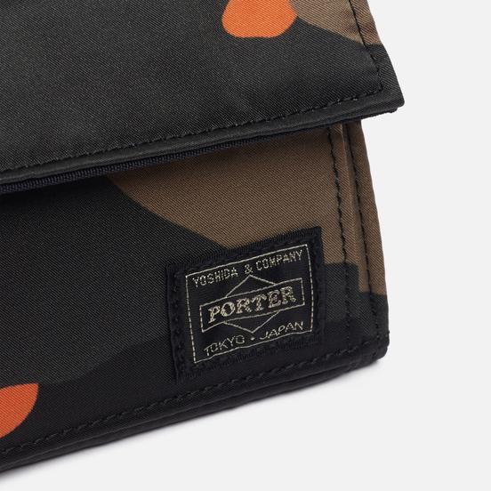 Кошелек Porter-Yoshida & Co PS Camo Medium Woodland Orange