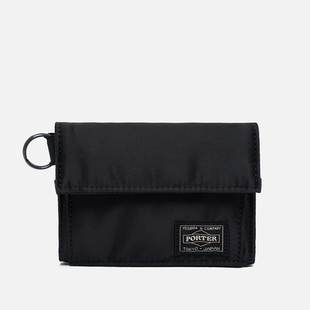 Porter-Yoshida & Co Tanker Wallet Black