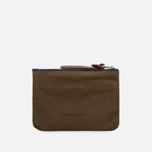 Кошелек Property Of... Jeff Pouch Dark Tan фото- 0