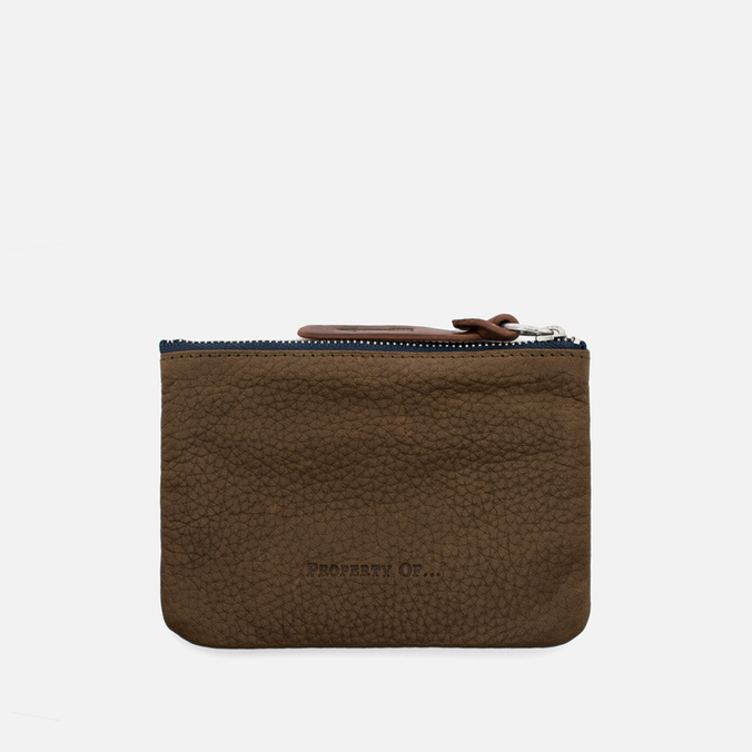 Кошелек Property Of... Jeff Pouch Dark Tan
