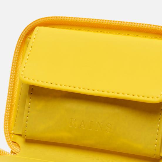Кошелек Rains Small Zip Yellow