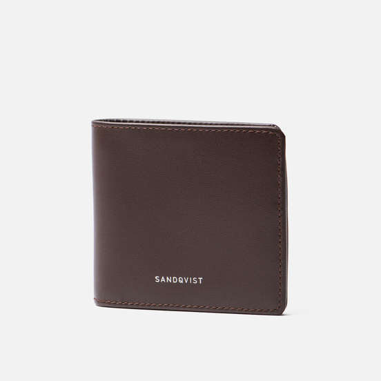 Кошелек Sandqvist Manfred Dark Brown