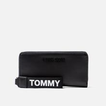 Кошелек Tommy Jeans Large Logo Black фото- 0