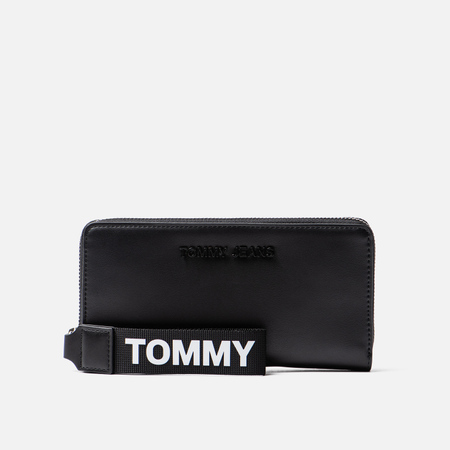 Кошелек Tommy Jeans Large Logo Black