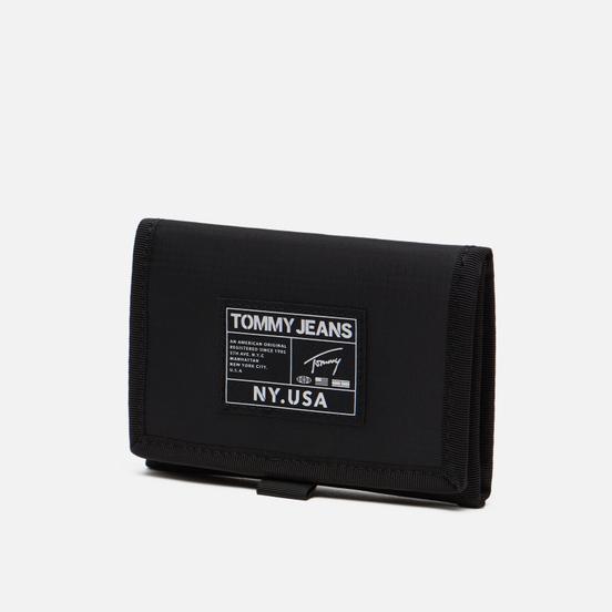 Кошелек Tommy Jeans Urban Tech Trifold Nylon Black
