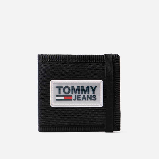 Кошелек Tommy Jeans Urban Varsity Mini Black