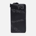 Кошелек Y-3 Logo Strap Zip Black фото- 0