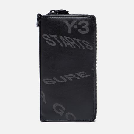 Кошелек Y-3 Logo Strap Zip Black