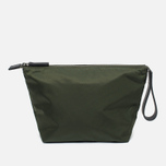 Косметичка Ally Capellino Ira Luxe Nylon Dark Green фото- 0