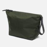 Ally Capellino Ira Luxe Nylon Cosmetic bag Dark Green photo- 1