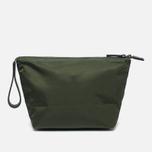 Ally Capellino Ira Luxe Nylon Cosmetic bag Dark Green photo- 3