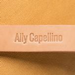 Косметичка Ally Capellino Nazim Waxed Yellow/Grey фото- 4